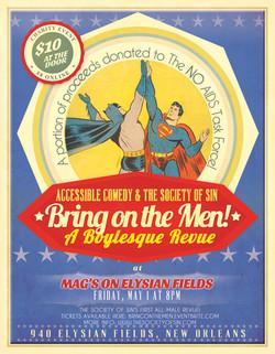 Bring On The Men! A Boylesque Revue