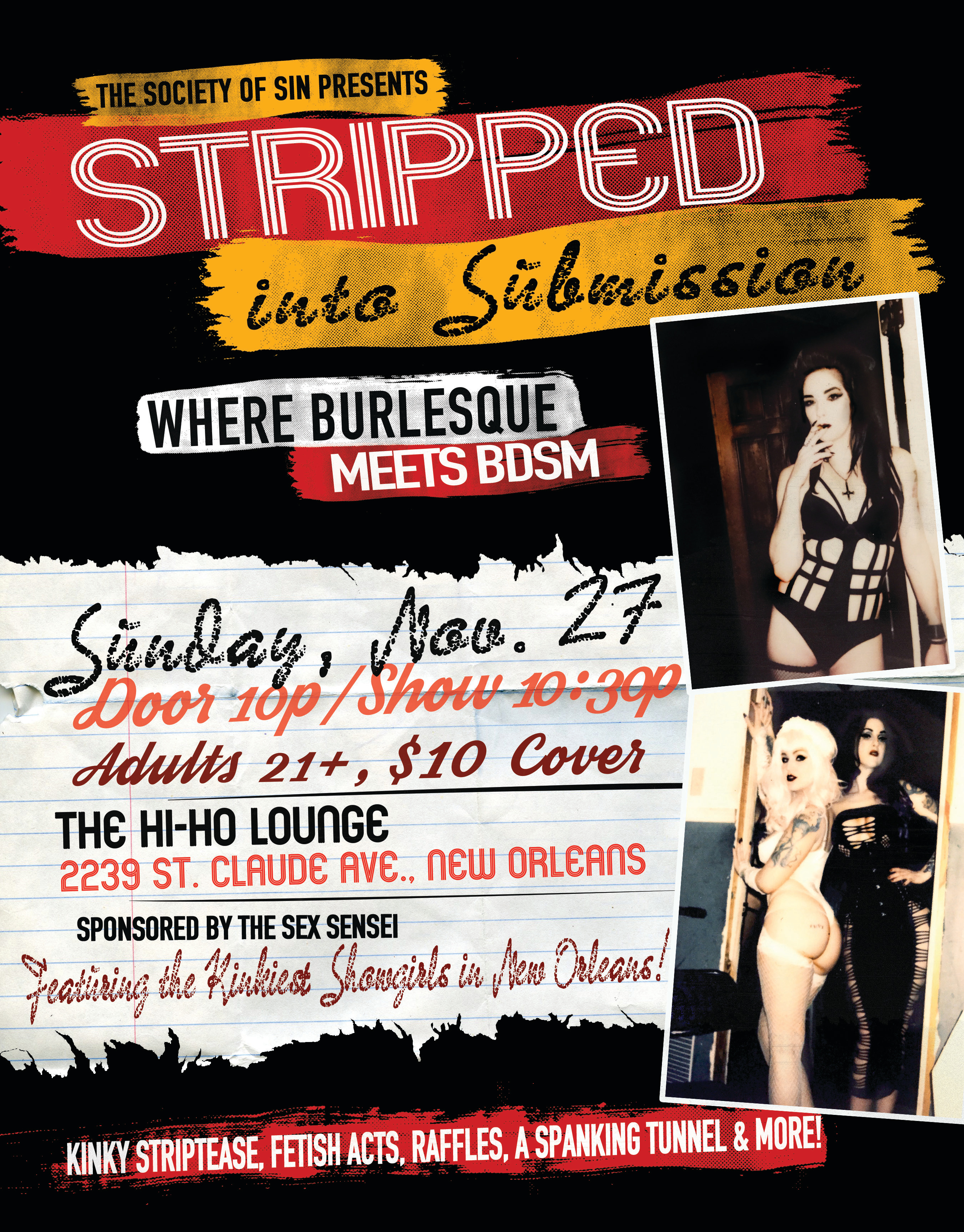 Stripped Into Submission