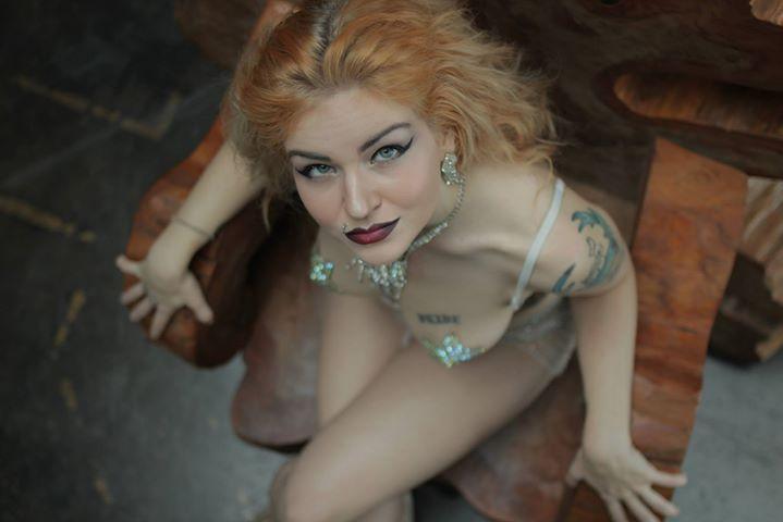 Xena Zeit-Geist  New Orleans Burlesque The Society of Sin