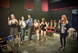 Batman Burlesque Rehearsal The Society of Sin Arkham ASSylum