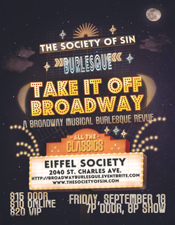 Take It Off Broadway Burlesque