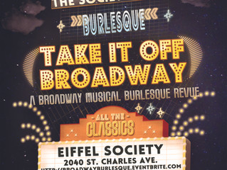 The Society of Sin Returns to the Stage with Burlesque Ode to Broadway Musicals
