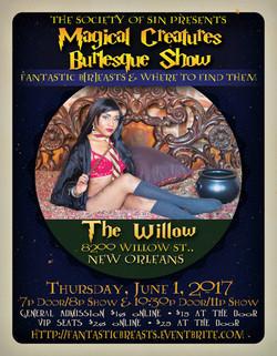 Fantastic Beasts Burlesque Show