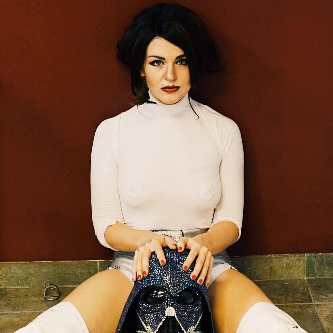 Xena Zeit-Geist as Princess Leia