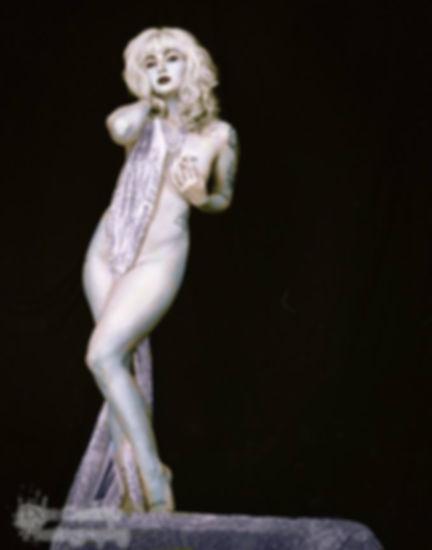 Xena Zeit-Geist New Orleans Burlesque Dancer Model