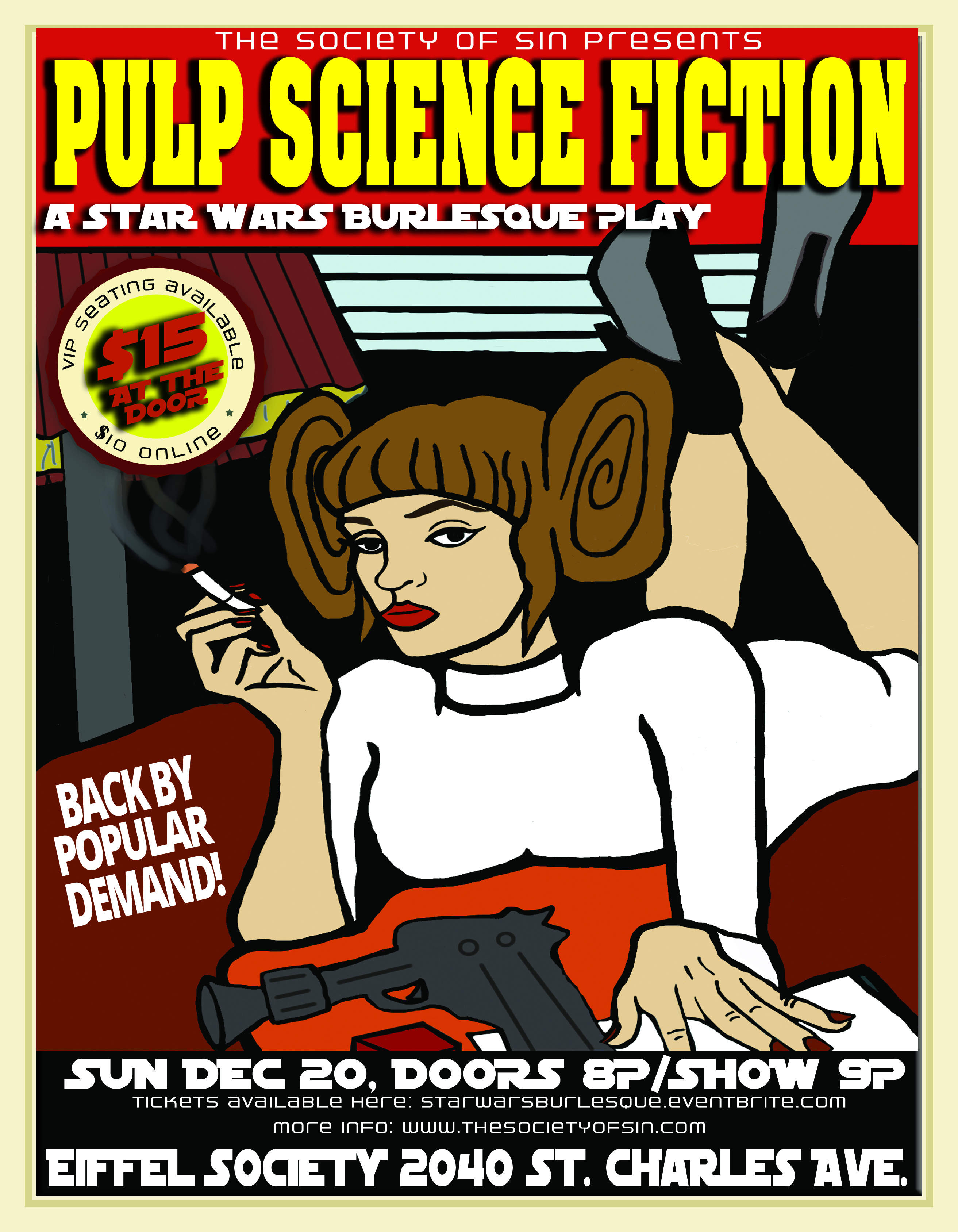 Pulp Science Fiction Star Wars Show