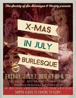 X-mas In July Burlesque