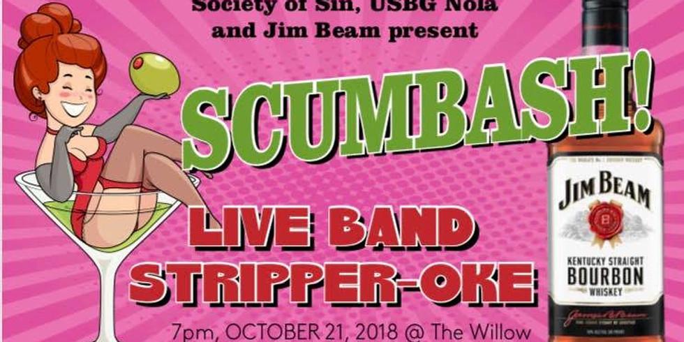 Scumbash! Live Band Stripper-Oke