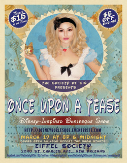 Once Upon a Tease Burlesque Show