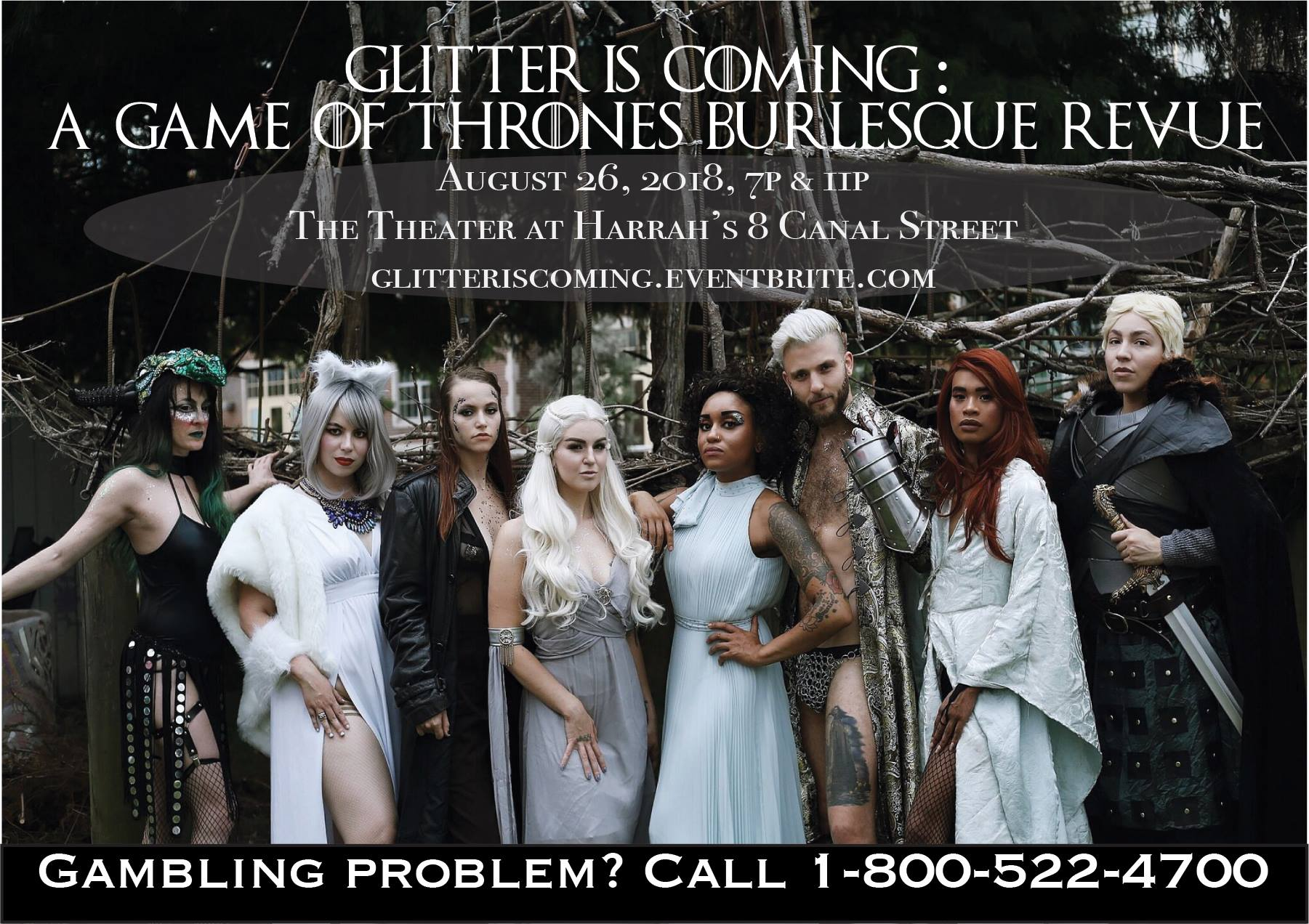 Glitter Is Coming: GoT Burlesque