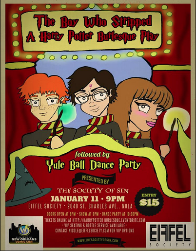 Harry Potter Burlesque & Yule Ball