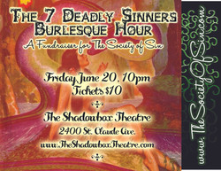 The 7 Deadly Sinners Burlesque Hour