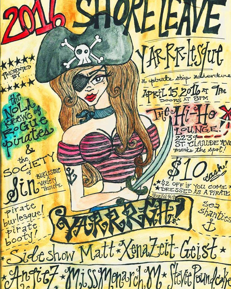 YARRR-lesque: A Pirate Strip Show