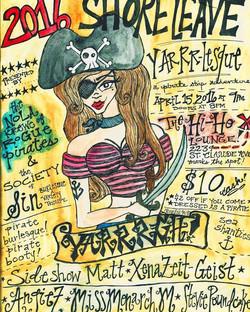 YARRR-lesque: A Pirate Strip Show