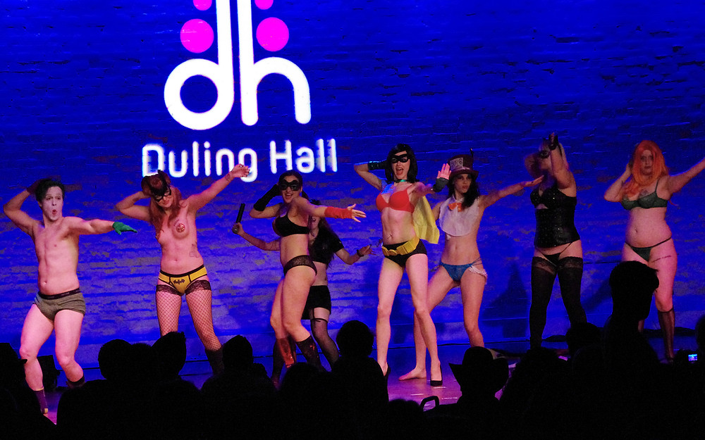 Batman Burlesque The Society of Sin at Duling Hall in Jackson, MS