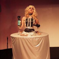 Xena Zeit-Geist as a Sexy Table