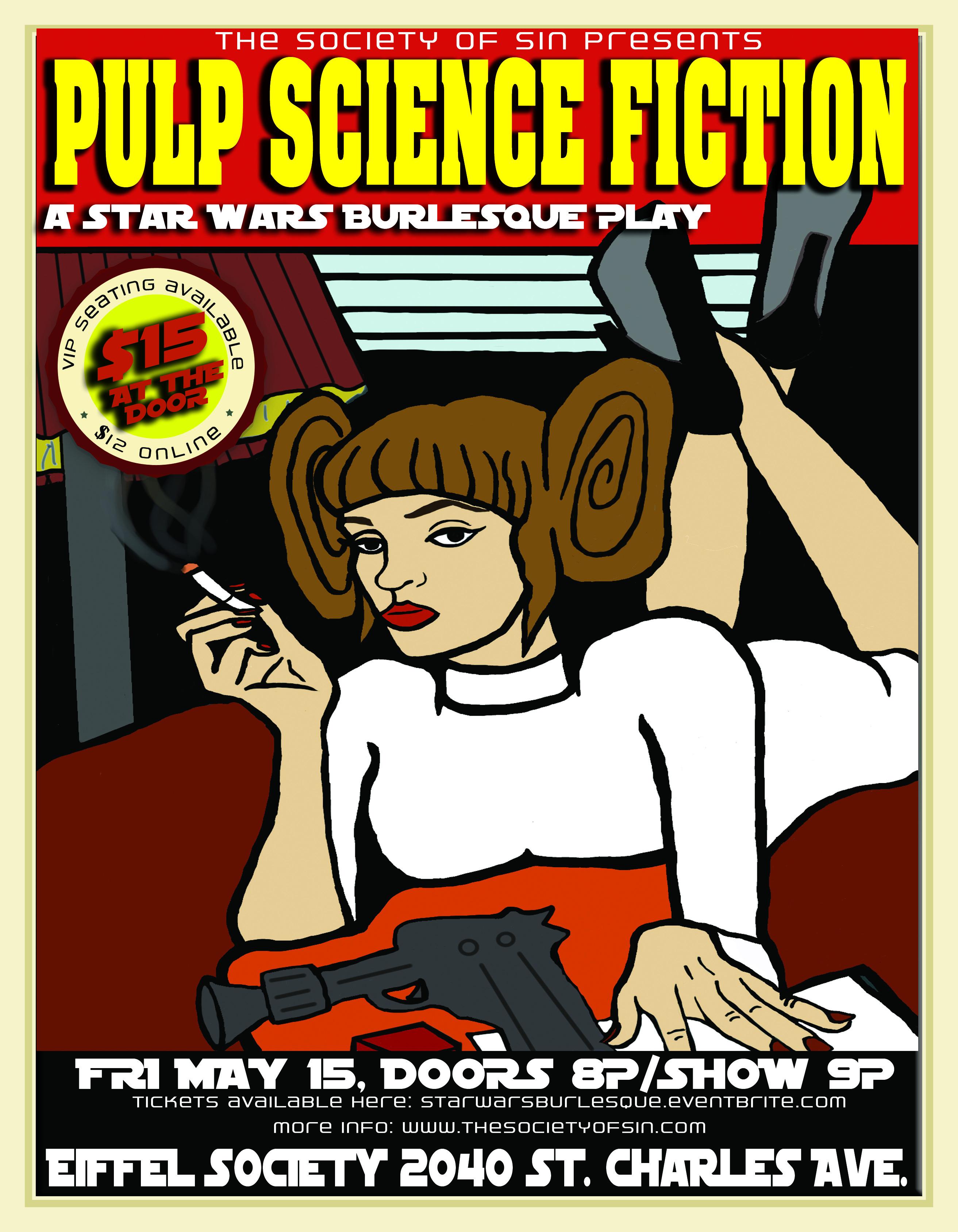 Pulp Science Fiction