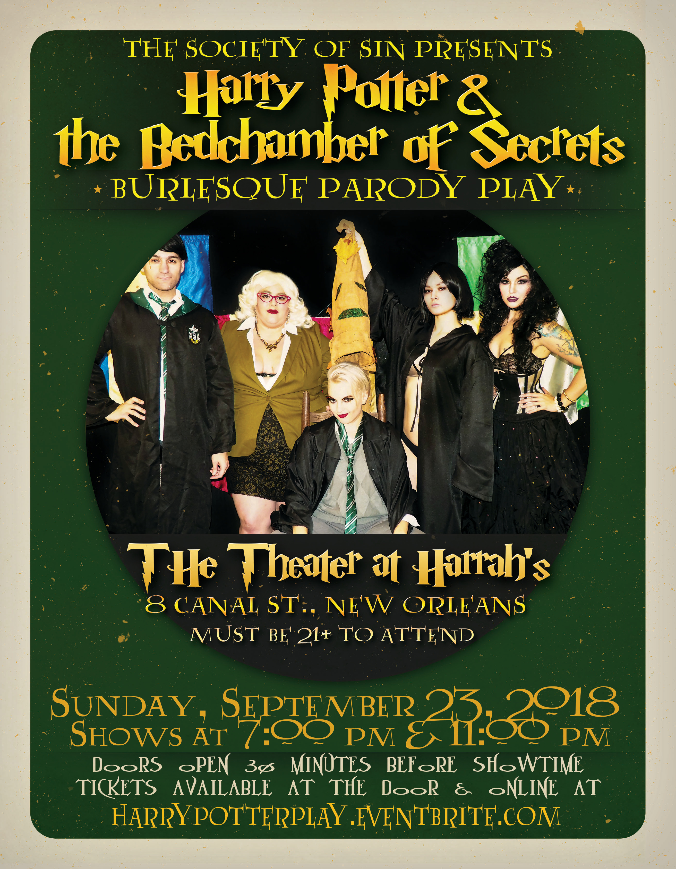 Harry Potter Burlesque Play