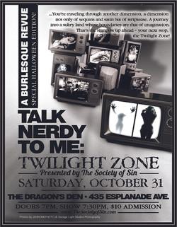 Talk Nerdy To Me: Twilight Zone