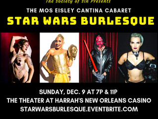 The Society of Sin presents a night of Star Wars inspired striptease