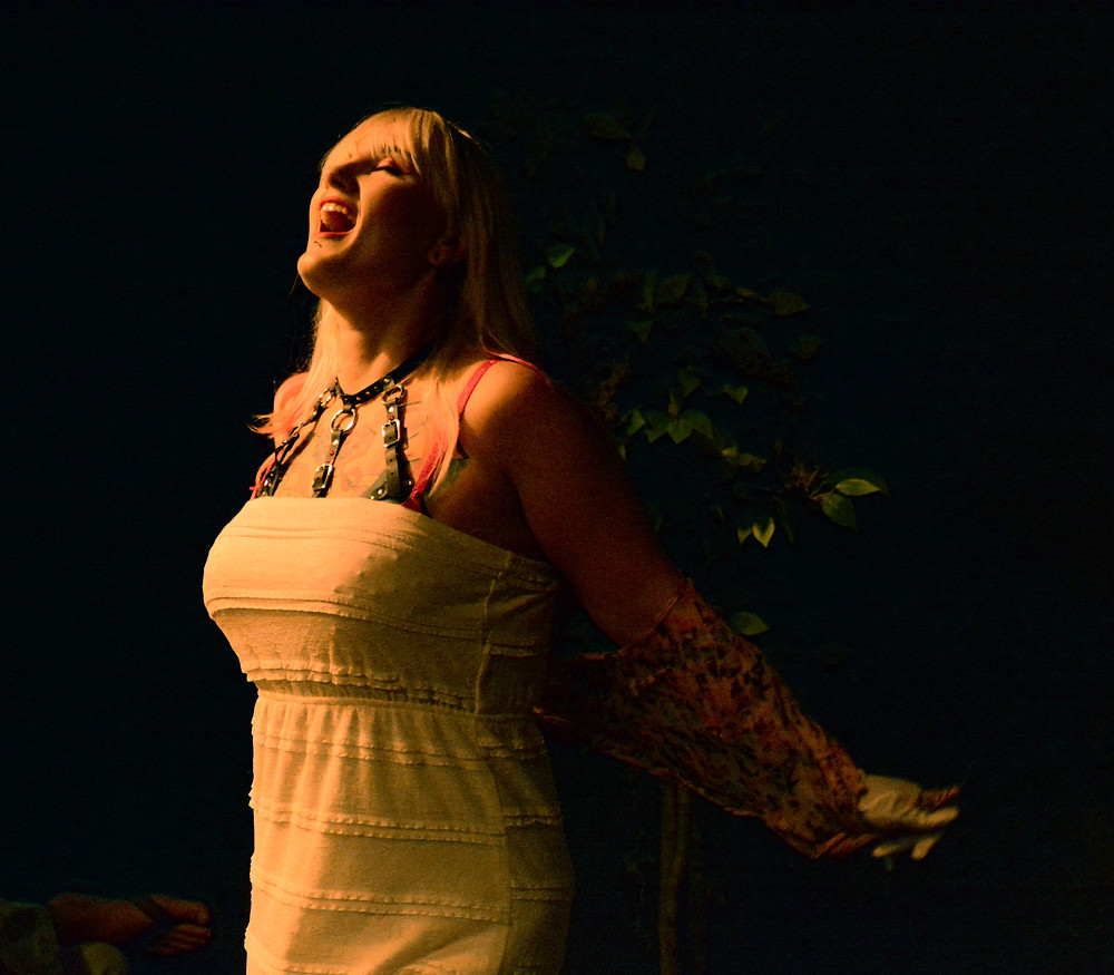 Melody Thick in A Midsummer Night's Wet Dream By The Society of Sin New Orleans Fringe Fest