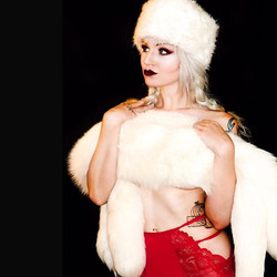 X-mas in July burlesque is tomorrow at _
