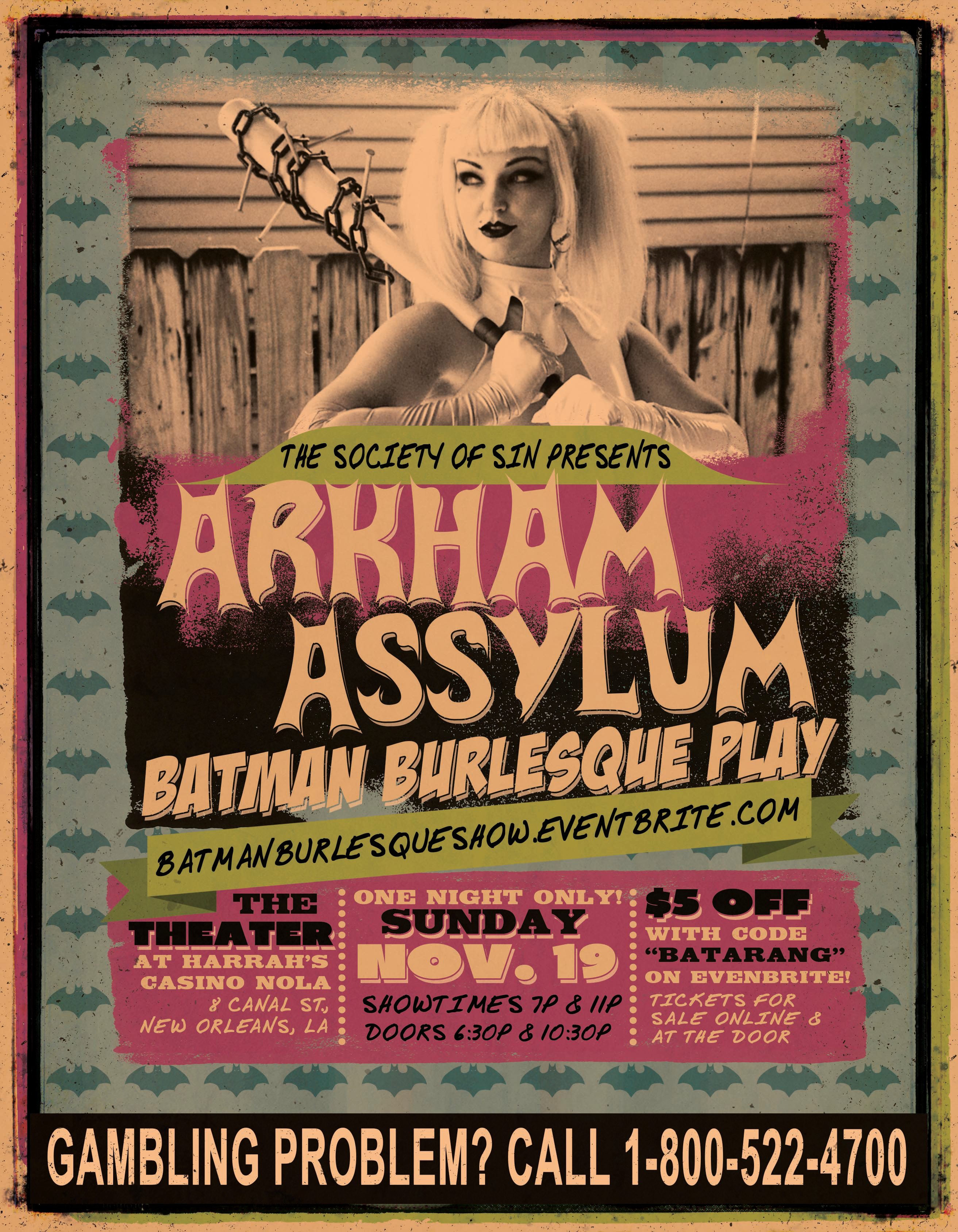 Arkham ASSylum Batman Burlesque