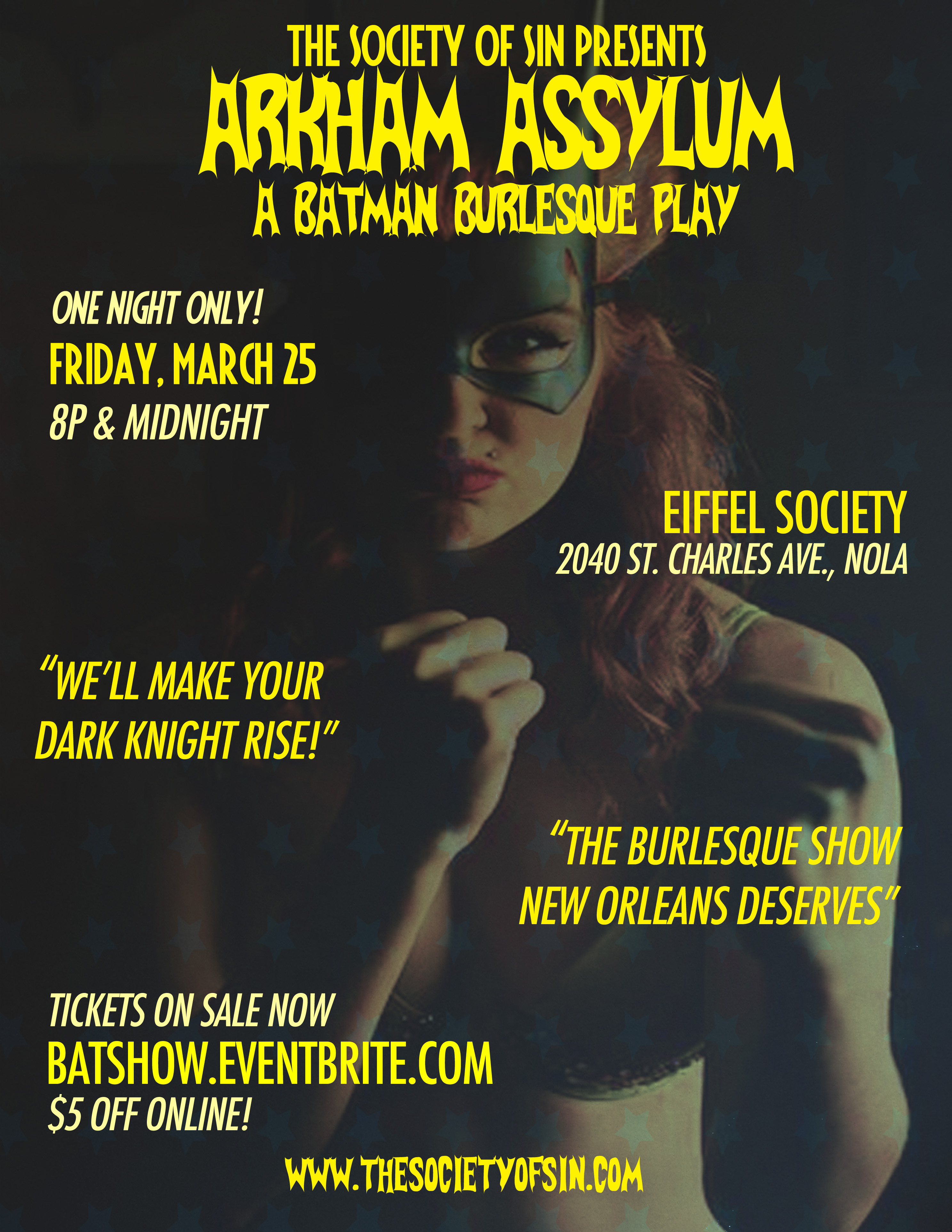 Arkham ASSylum: Batman Burlesque