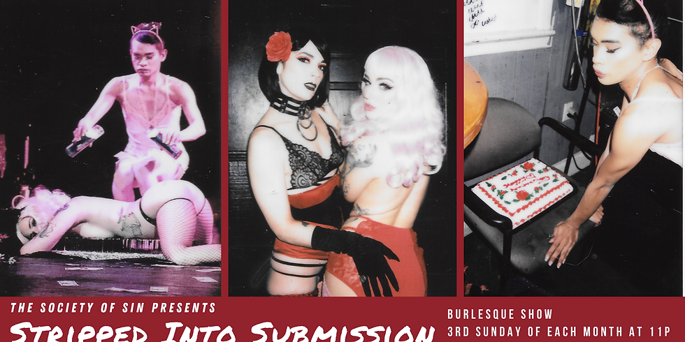 Stripped Into Submission: Where Burlesque Meets BDSM (July 2021)