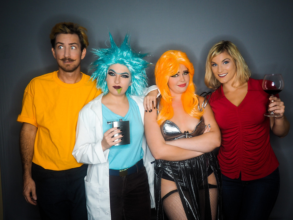 rick and morty burlesque the society of sin remy dee cherry brown dawn drapeher clay mazing