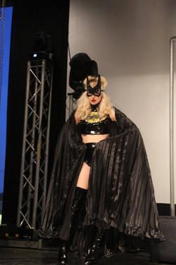 Xena Zeit-Geist as Batman