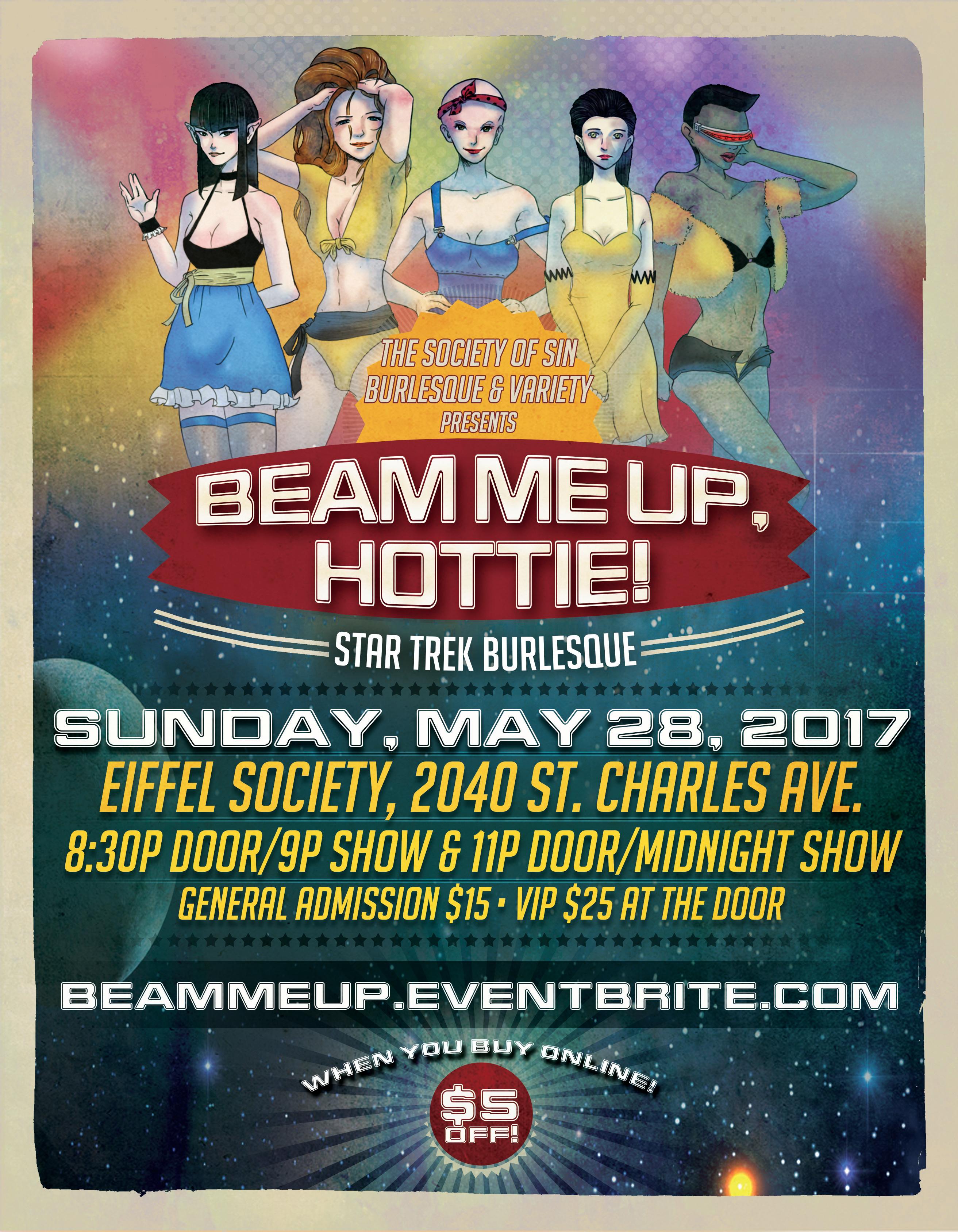 Beam Me Up, Hottie! Star Trek Show