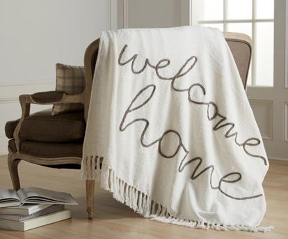 WELCOME HOME BLANKET