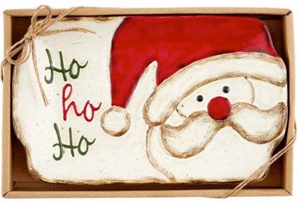 SANTA CHRISTMAS DESSERT TRAY