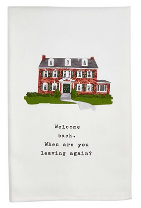 WELCOME BACK TOWEL