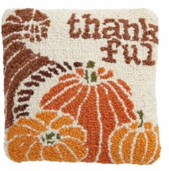 THANKFUL MINI HOOK PILLOW