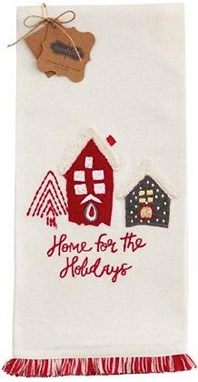 HOME FRINGE CHRISTMAS TOWEL