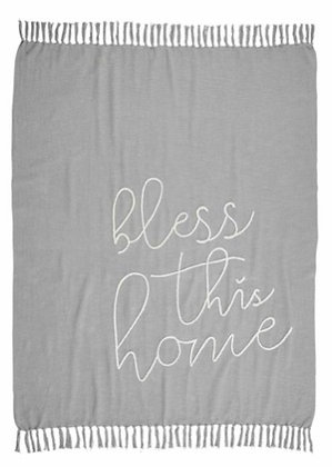 BLESS THIS HOME BLANKET