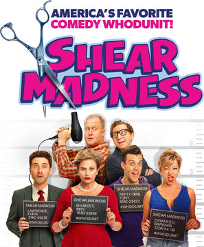 OFF-BROADWAY debut in SHEAR MADNESS!