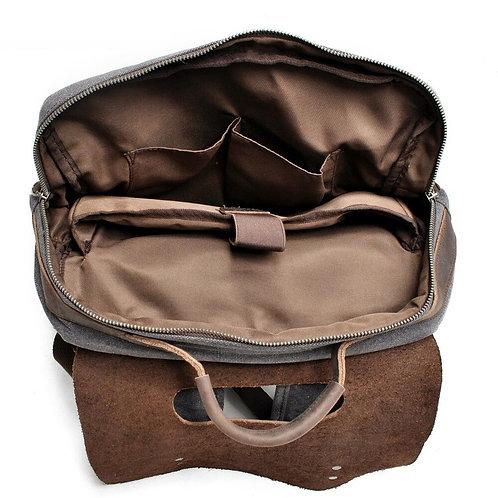 MARK CRAIG FX ULTIMATE Multifunction Vintage Canvas/Leather Wearproof Travel Bag