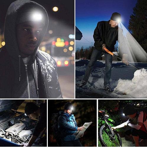 MARK CRAIG FX SPORTS LED Lighted Cap Warm Beanies Hands Free