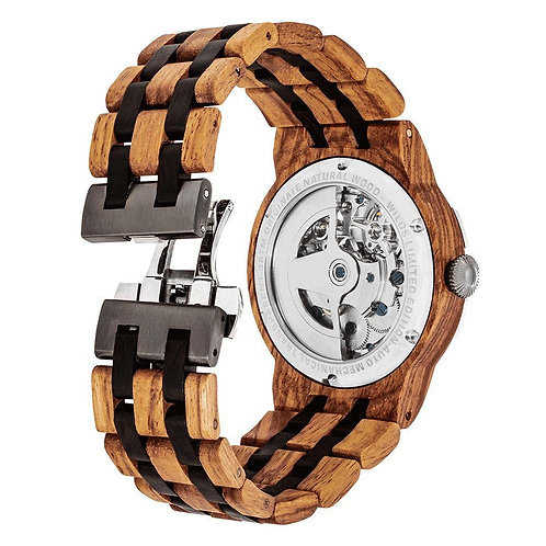MARK CRAIG FX SELECT Dual Wheel Automatic Ambila Wood for Watch Collectors