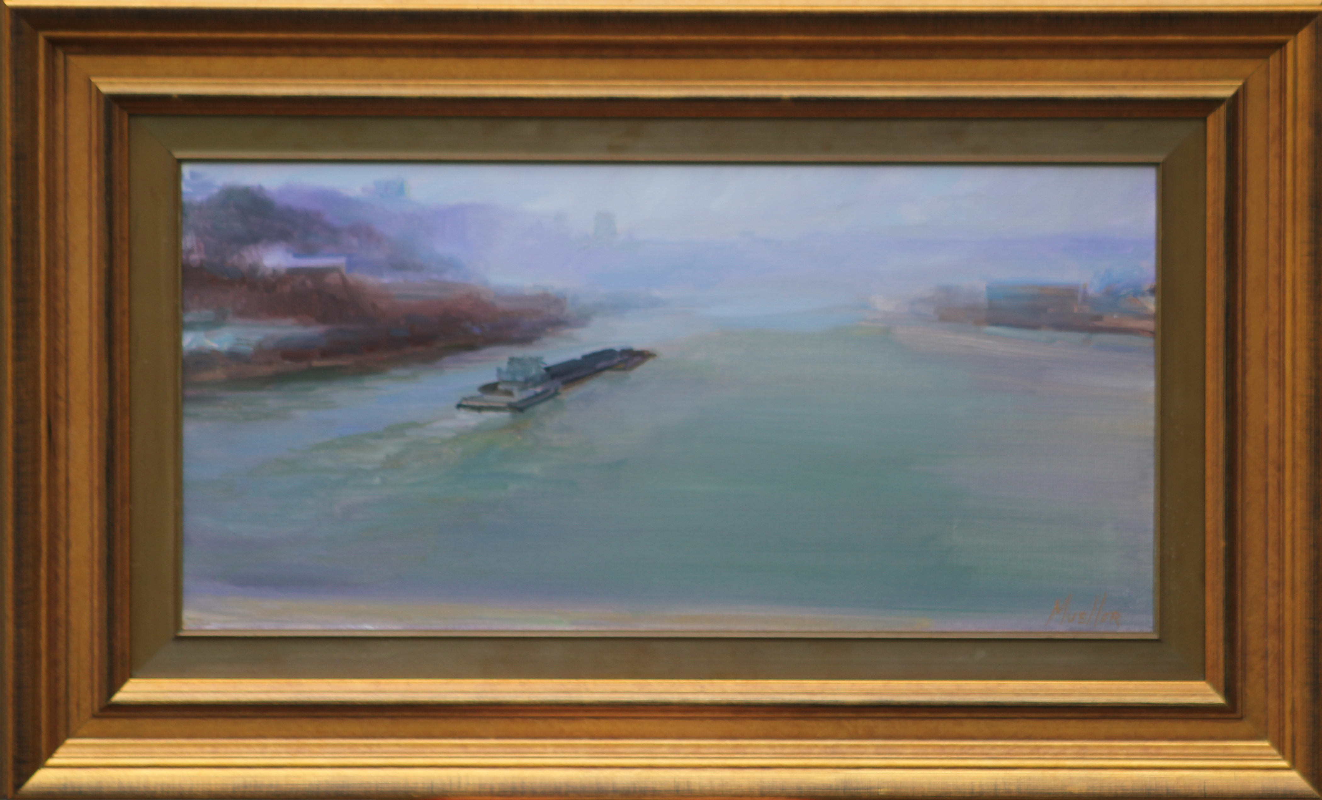 Ohio River from the Big Mac (Mueller) 12 x 24