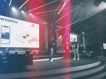 """Newsadoo beim 4GAMECHANGERS Festival Wien als """"Born Global Champion 2019"""" ausgezeichnet"""