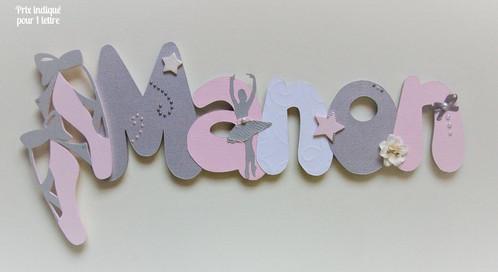 decoration murale prenom