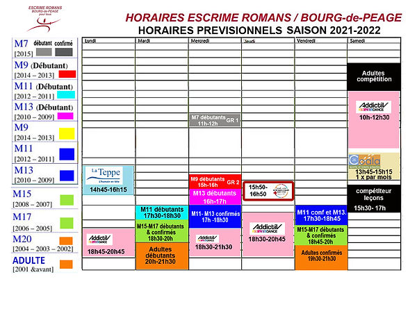 PLANNING ESCRIME ROMANS 25 09 2021 2022..jpg