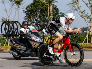 Blowing Off the Cobwebs: Liuzhou 70.3