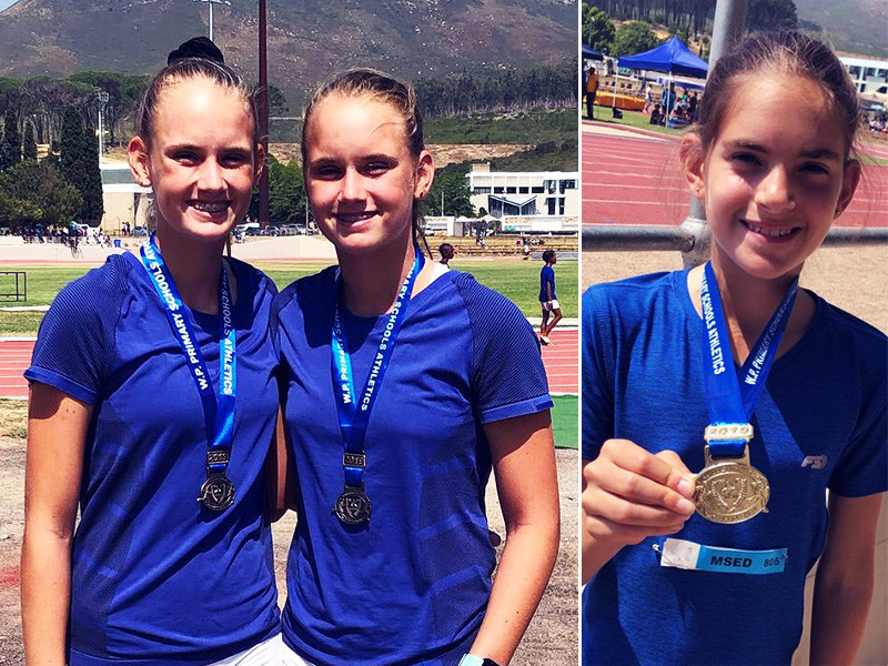 Off The Mark young athletes achieving Western Province Colours at WPPSAC