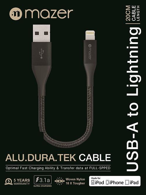 Mazer ALU.DURA.TEK Lightning to USB Cable
