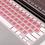 Thumbnail: MAZER KeyBoard Protector Colour airShield for MacBook13 Retina-PK